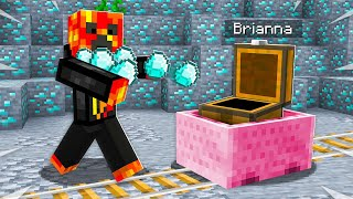 7 Ways to Steal PRESTONPLAYZ Diamonds! - Minecraft