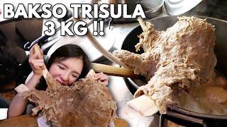 NGERI !! BAKSO RUSUK TRISULA 3 KG + BAKSO LAVA BERANAK CABE !!