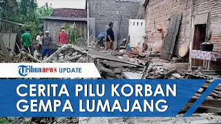 Cerita Pilu Korban Gempa di Lumajang, Kakak Ipar Meninggal di Depan Mata Tertimpa Kanopi Bangunan