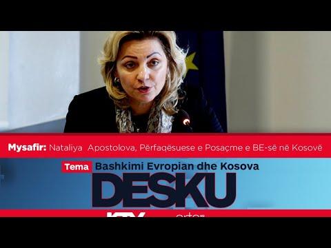 Sonte në DESKU - Nataliya Apostolova, Përfaqësuese e Posaçme e BE-së në Kosovë