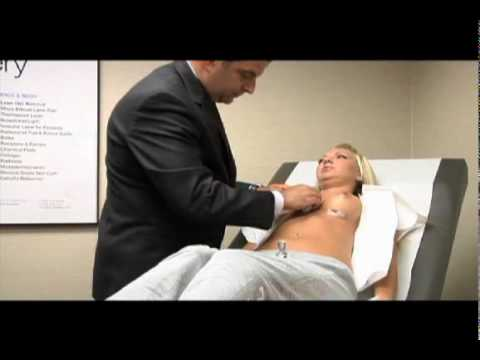 Laser breast surgery
