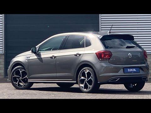 Volkswagen NEW Polo R-Line 2020 in 4K Limestone Grey 17 inch Bonneville walk around & detail inside
