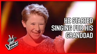 Most INSPIRING audition in The Voice 😭  STORIES #14