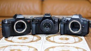 Canon EOS 650 620 600 SLR Film Camera Review