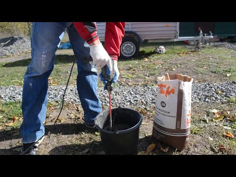 Как приготовить клей для кладки газобетона