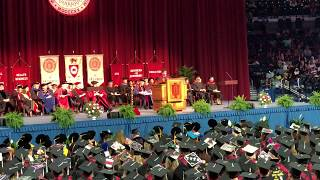 Student Body President Graduation Speech IU South Bend 2018