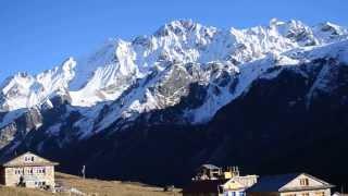 preview picture of video 'Langtang Trek, Nepal, Day 3 @ Kyanjin Gumpa; Nov 19, 2013'