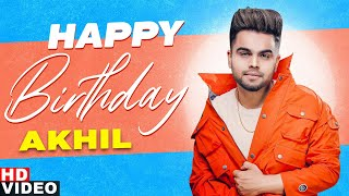 Birthday Wish | Akhil | Birthday Special | Latest Punjabi Songs 2020 | Speed Records