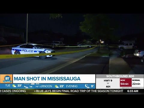 Man injured in Mississauga shooting