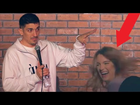 Mom tries to have a threesome at comedy show