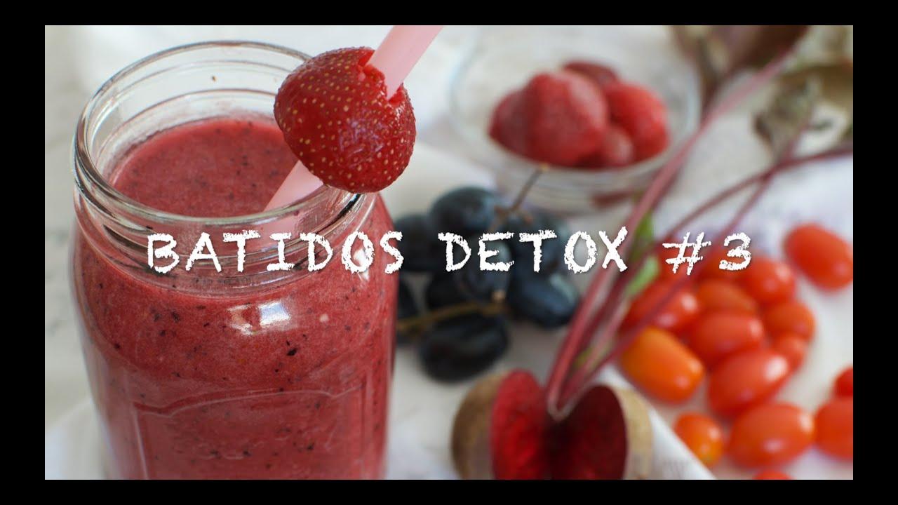 Batidos  detox #3 | Zumos detox | Batido detox | Zumo para perder peso y llevar una vida saludable