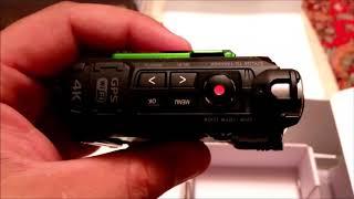 не убиваемая экшн камера 4к olympus tough tg-tracker,обзор тест