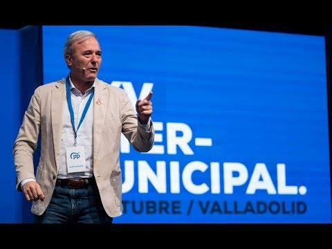 Jorge Azcón interviene en la XXV Intermunicipal del PP