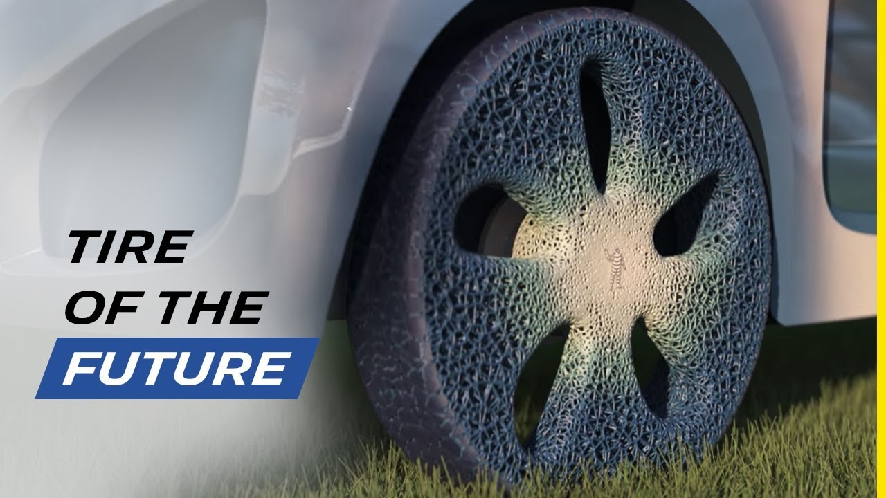 maxresdefault - #видео | Компания Michelin представила концепт автомобильных шин будущего