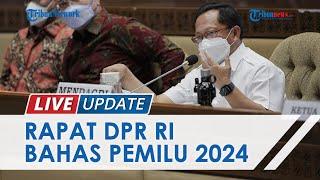 Rapat Komisi II DPR RI bersama Mendagri, Ada Perbedaan Usulan soal Pelaksanaan Pemilu Serentak 2024