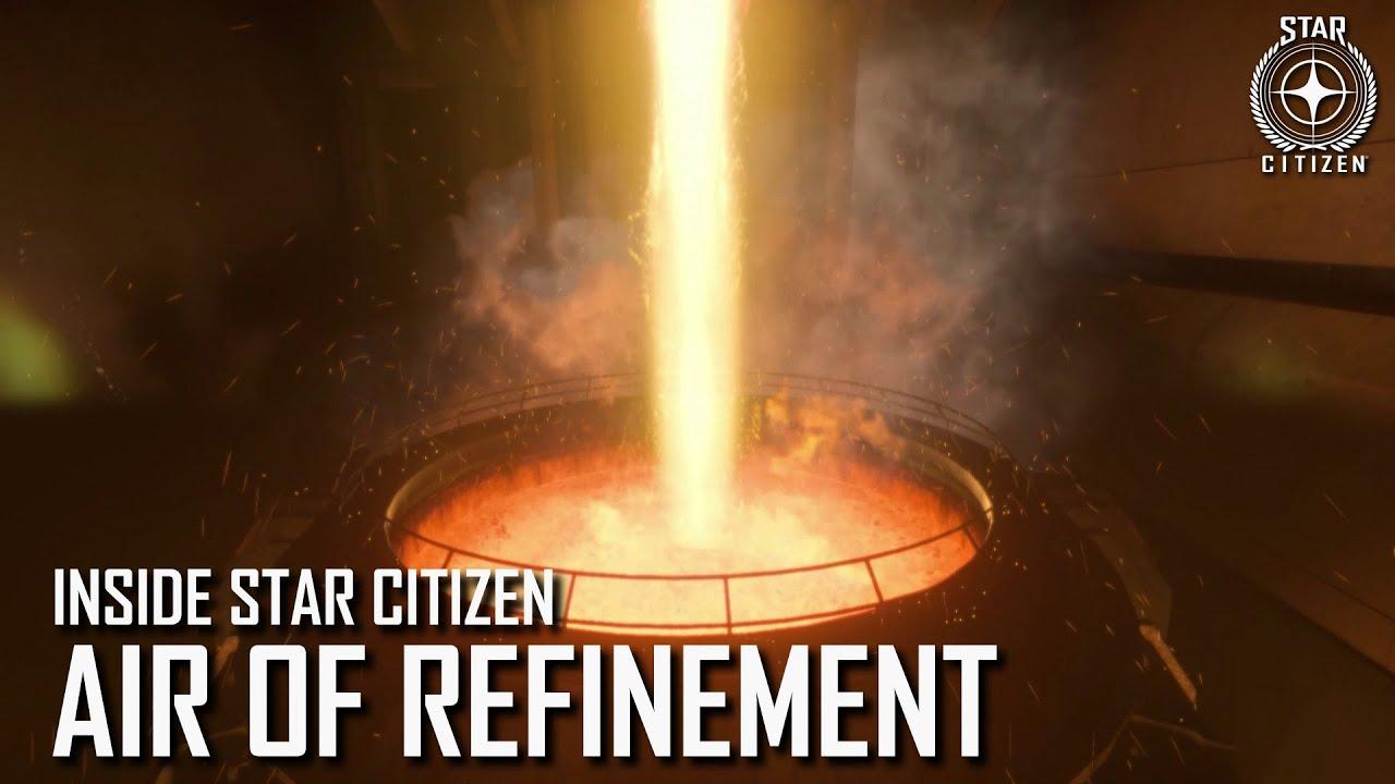 Star Citizen mostra la raffinazione dei materiali e un nuovo mirino da cecchino in arrivo con l'alpha 3.12