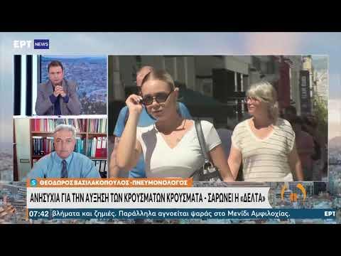 Θ. Βασιλακόπουλος: Μόνο ο εμβολιασμός μπορεί να λύσει το πρόβλημα της πανδημίας   27/08/21   ΕΡΤ