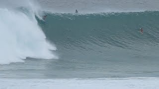 Huge Waves At Uluwatu - 19th July 2018
