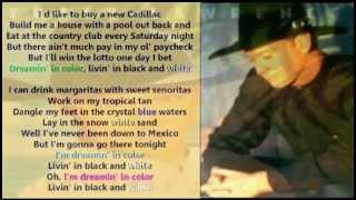 Tracy Lawrence   Livin' In Black And White ( + Lyrics 1997)