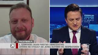 PN Łukasz Szumowski: Na szczęście nie jestem na miejscu ministra Niedzielskiego