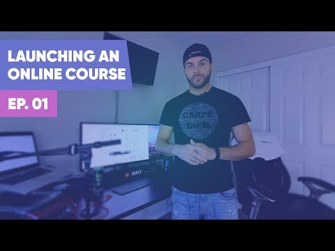 Launching an Online Course Ep. 1 - SAAS Adventure - YouTube