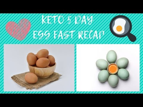 Keto 5 Day Egg Fast Review | How I lost 8 lbs on the Keto Egg Fast