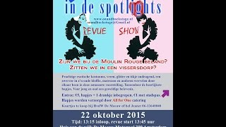 On & Backstage in de spotlights