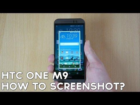 How To Take HTC One M9 Screen Shot / Capture / Print Screen!