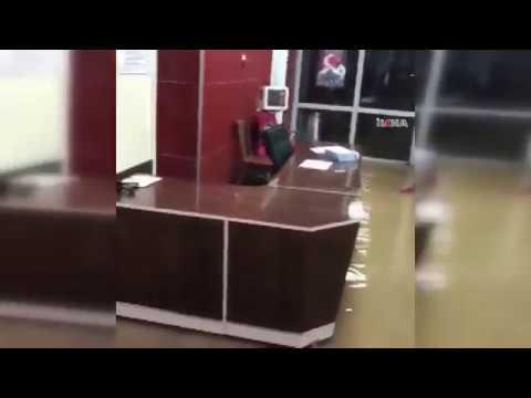 Şırnak Devlet Hastanesi sular altında kaldı