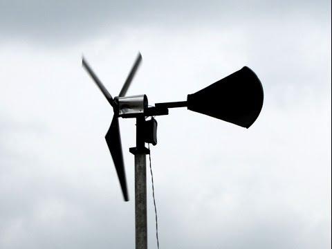 DIY MINI WIND GENERATOR FREE ELECTRICITY MINI WIND TURBINE UPDATE.