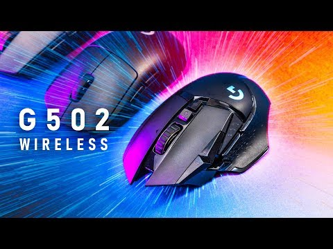 External Review Video TyiYBk8pcig for Logitech G502 LIGHTSPEED Wireless Gaming Mouse (910-005565)