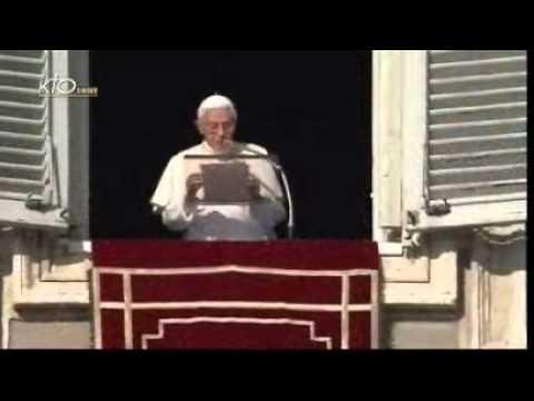 Angélus et message du Pape pour la Paix