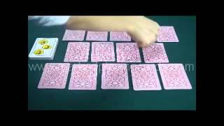 Spanish Fournier No.12 Cards-marked Cards- Cold Deck For Contact Lenses