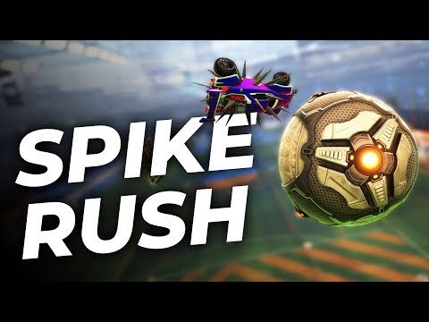 Spike Rush : premières games – Rocket League FR