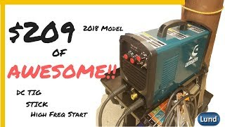 👉AMAZING! 2018 Model 180 AMP DC TIG, STICK, Hi Frequency, dual voltage Welder, COMPLETE PACKAGE!!!!