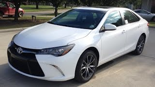 2015 Toyota Camry XSE Full Review, Start Up, Exhaust