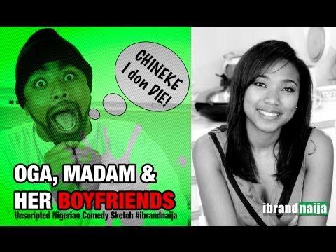 Oga, Madam and Her Boyfriends | Unscripted Comedy Sketch | #ibrandnaija