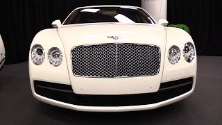 2015 Bentley Flying Spur V8 - Exterior and Interior Walkaround - 2015 Montreal Auto Show