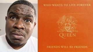 Gambar cover FIRST TIME HEARING - Queen - Who Wants To Live Forever - REACTION