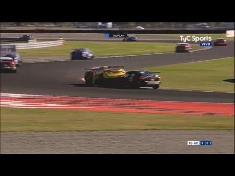 Súper TC 2000 2018. QR Autódromo Termas de Río Hondo. Crash