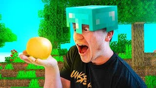 ONLY EATING MINECRAFT FOODS FOR 24 HOURS!