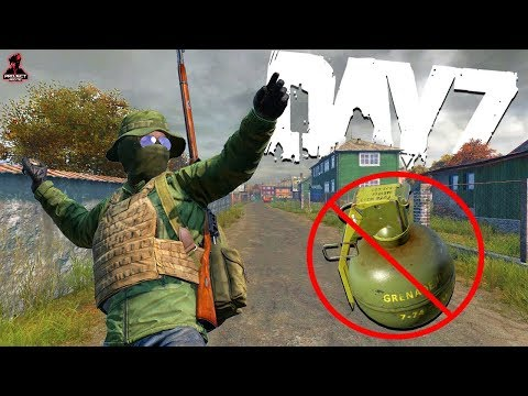 I am NEVER using GRENADES in DayZ AGAIN...