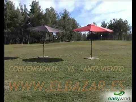 SOMBRILLAS - PARASOLES ANTI-VIENTO | COMPRAR | EL BAZAR