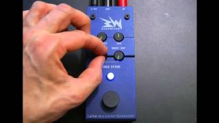 BASSWITCH SONIC SPARK - tube sound enhancer preamp boost pedal demonstration