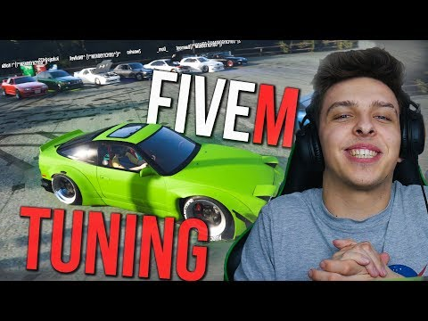 TUNINGOVÝ SRAZ V GTA | FIVEM (4k)