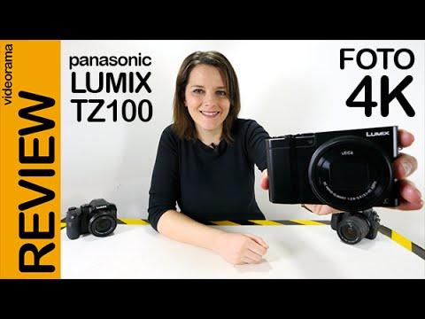 Panasonic Lumix TZ100 Foto 4K review en español   4K UHD