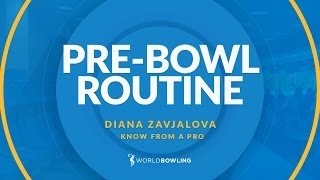 The Perfect Pre-Shot Routine - Know From a Pro with Diana Zavjalova - World Bowling