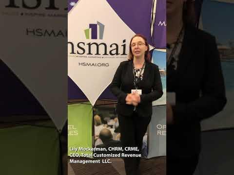 HSMAI Certification - Lily Mockerman, CHRM, CRME - YouTube