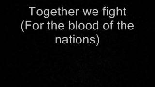 Accept - Blood Of The Nations Lyrics