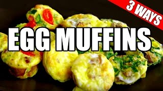 over easy egg muffin cups